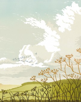 Steve Manning-Clouds over Woodbury-Wychwood Art (2)