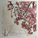 Susan Noble Hanami ii unframed front view cherry blossom