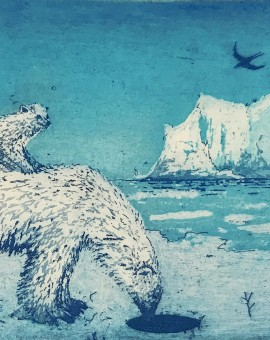 Tim Southall. A Hole in the Ice. Wychwood Art