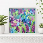 Wildflowers VI Alanna Eakin Abstract Floral Artwork