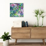 Wildflowers VII Alanna Eakin Gallery Wall In Situ Collectable Happy Colours