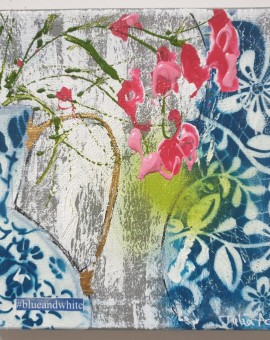blue and white by julia adams wychwood art