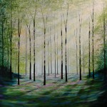 Amanda Horvath  Enchanted Place       Landscape Painting, Impressionist Art, Affordable Contemporary Painting