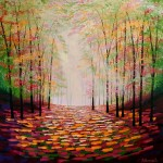 Amanda Horvath  Sunlight       Dreaming       Landscape Painting, Impressionist Art, Affordable Contemporary Painting