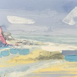 Annabel Menheneott On the Beach Wychwood Art