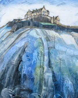 Anya Simmons-Castle Rock-Edinburgh-Wychwood Art