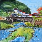 Anya Simmons-East Lyn River-Lynmouth-Wychwood Art