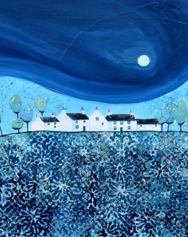 Anya Simmons-Evening Blue-Wychwood Art