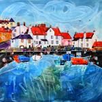 Anya Simmons-Pittenweem Harbour-Fife-Wychwood Art
