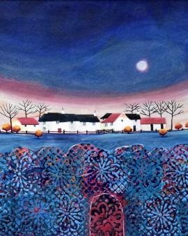 Anya Simmons-Rainbow Hope Cottages-Wychwood Art