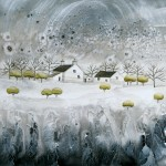 Anya Simmons-Snow Blossom Cottage-Wychwood Art