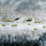 Anya Simmons-Snow Blossom Cottage-Wychwood Art