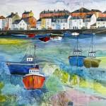 Anya Simmons-Weymouth Harbour-Wychwood Art