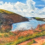 Coastal Walk overlooking Fowey Estuary Wychwood Art 1