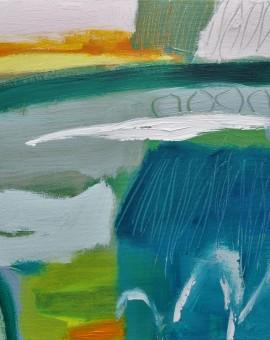 Diane Whalley Evening Swim Wychwood Art
