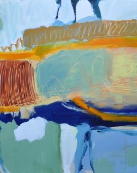 Diane Whalley The Big trip Wychwood Art