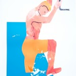 Dipping Ricky1, G Dobson, Screenprint