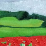 Eleanor-Woolley-_-Cotswold-poppies-_-Landscape-_-Impressionistic-_-Section-2