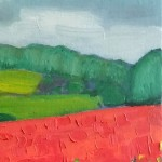 Eleanor-Woolley-_-Poppies-near-Naunton-_-Landscape-_-Impressionistic-_-Section-3