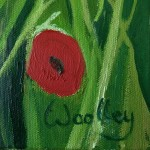 Eleanor-Woolley-_-Poppies-near-Naunton-_-Landscape-_-Impressionistic-_-Signature