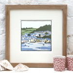 Fiona Carver A Cornish Village Wychwood Art