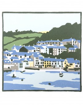 Fiona Carver A Cornish Village Wychwood Art