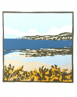 Fiona Carver Gorse at Borthwen Wychwood Art