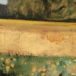 Golden Buttercups with Gold Leaf detail 4