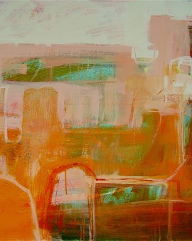 J.Keith Indian Afternoon , Abstract, landscape, Wychwood Art.jpeg
