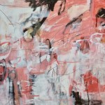 Janet Keith Rosy Rosy  Abstract, red, Pink Wychwood Art