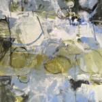Janet Keith Winter Garden abstract landscape  Wychwood Art