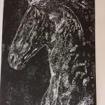 Joanna Padfield Linocut Print Friesian Beauty4