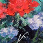 Mary Chaplin the geranium season at Claude Monet s house in Giverny detail1 Wychwood Art