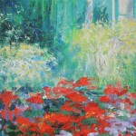 Mary Chaplin the geranium season at Claude  Monet s house in Giverny detail2