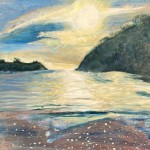 Morning Light, Readymoney Cove, Fowey Wychwood Art (2)