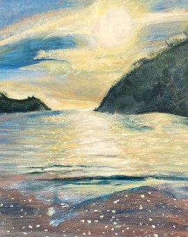 Morning Light, Readymoney Cove, Fowey Wychwood Art