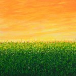 Pixie Willoughby Field of Green Wychwood Art