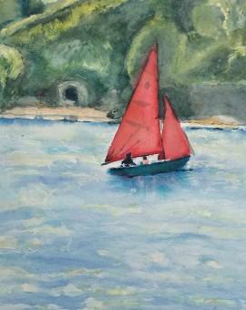 Red Sails Wychwood Art Full Image