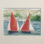 Salcombe Yawls Racing Study Wychwood Art