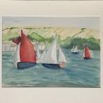 Salcombe Yawls Racing Wychwood Art