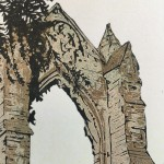 Susan Noble Gisborough Priory close up archway 2mg