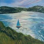 Turquoise Sails Wychwood Art 1