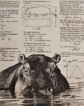 Will Taylor  Mean Hippopotamus  Main  Wychwood Art