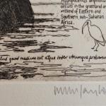 Will Taylor  Mean Hippopotamus  Signature  Wychwood Art