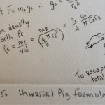 Will Taylor  Universal Pig Formulae  Edition  Wychwood Art