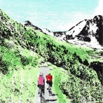 cycling_mountains_mtb_mountain_biking_road_riding_screenprint_katie_edwards_illustration_art