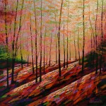 Amanda Horvath  Alchemy Wood       Landscape Painting, Impressionist Art, Affordable Contemporary Painting (2)