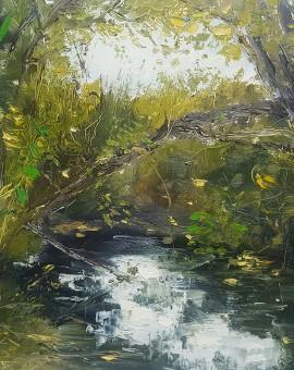 Fresh water & woodland, Libbi Gooch