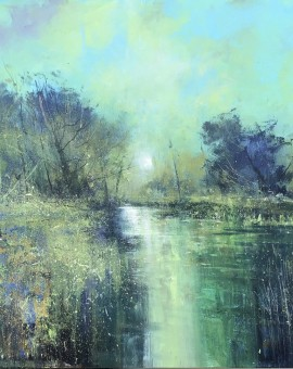 Jonathan Trim Clearing Mist on the River wychwood Art.jpeg