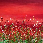 Lucy_Moore_Red_Sky_At_Night_#4_Original_Landscape_close_up (2)